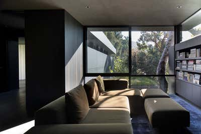 Modern Bar and Game Room. Mandeville Canyon by Marmol Radziner.