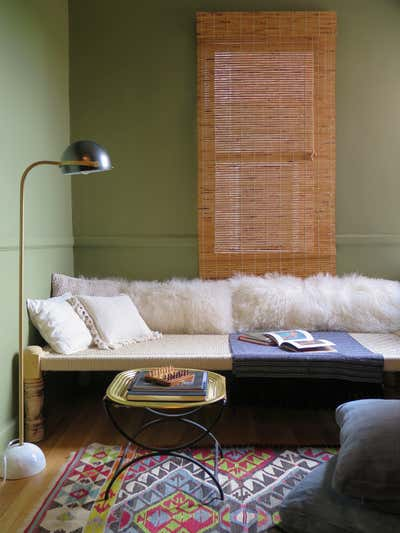 Bohemian Office and Study. HUDSON HEIGHTS by VERDOIER.