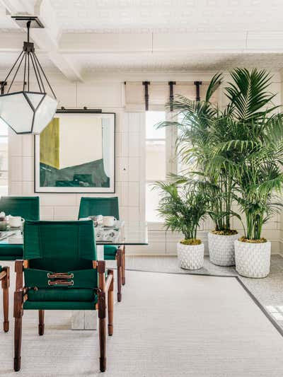 Eclectic Dining Room. The Breakfast Room by ECHE.