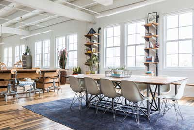 Industrial Office Open Plan. Black Sheep by Nest Design Group.