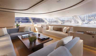 Transportation Living Room. Sailing Yacht Twizzle by Todhunter Earle Interiors.