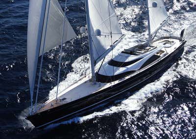 Transportation Exterior. Sailing Yacht Twizzle by Todhunter Earle Interiors.
