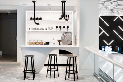 Contemporary Bar and Game Room. East End Summer Home   by Kelly Behun | STUDIO.