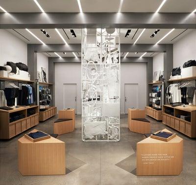 Frederick Tang Architecture - Mack Weldon Hudson Yards Store