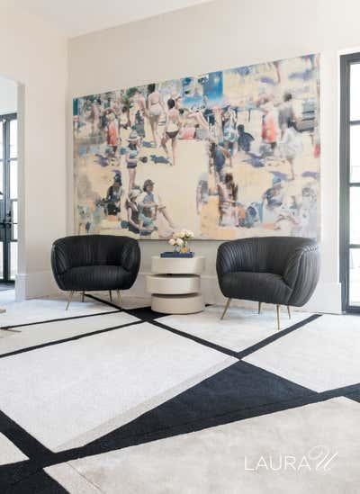 Art Deco Family Home Open Plan. Drexel Residence by Laura U Inc..