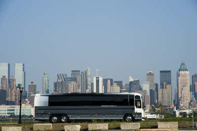 Transportation Exterior. Private Coach by Joe Serrins Architecture Studio.