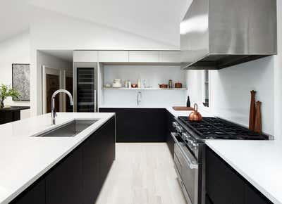 Minimalist Kitchen. Bull Path  by Winter McDermott Design.