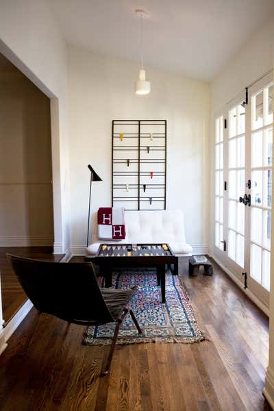 Eclectic Bar and Game Room. HOME 1 by Elizabeth Roth Home.