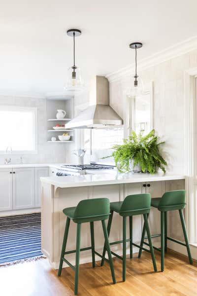 Bohemian Kitchen. MCM Remodel by Redmond Aldrich Design.