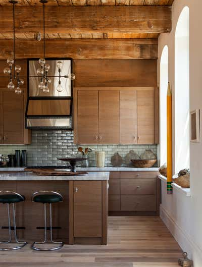 Contemporary Kitchen. Holiday House 2014 by Huniford Design Studio.