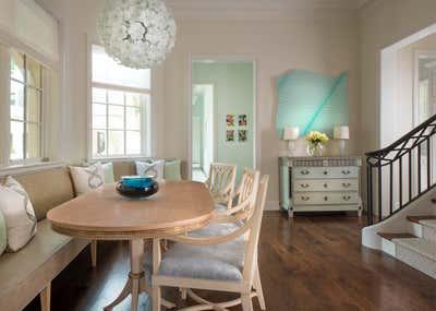 Transitional Dining Room. Timeless Elegance by Deborah Walker + Associates.