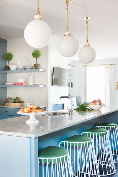 Contemporary Kitchen. Kemp House by Rebel House LLC.