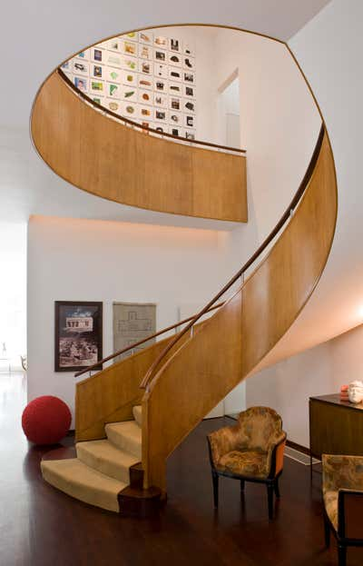 Contemporary Entry and Hall. Chestnut Hill Residence by JAGR Projects LLC.