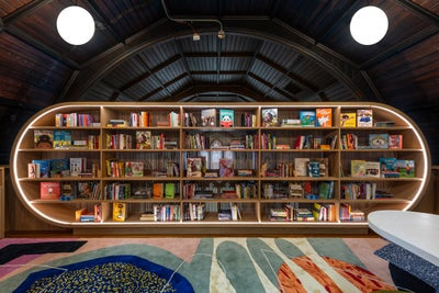 MKCA // Michael K Chen Architecture - The Children's Library at Concourse House
