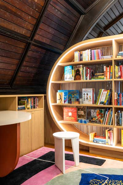 Government/Institutional Office and Study. The Children's Library at Concourse House by MKCA // Michael K Chen Architecture.