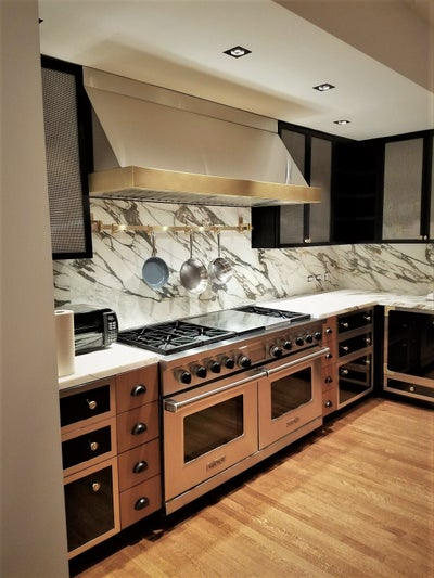 Andrea Michaelson Design - townhouse kitchen upper east side