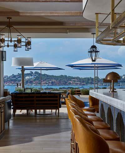 Contemporary Dining Room. Four Seasons Astir Palace by Martin Brudnizki Design Studio.
