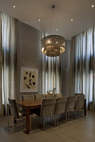 Contemporary Dining Room. Tribeca Loft by DHD Architecture & Interior Design.