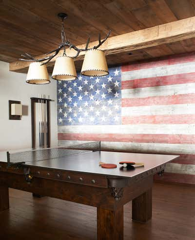 Western Bar and Game Room. Montana Ranch by Victoria Hagan Interiors.