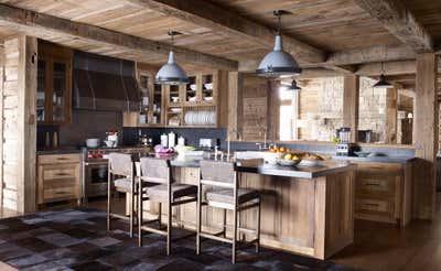 Western Kitchen. Montana Ranch by Victoria Hagan Interiors.