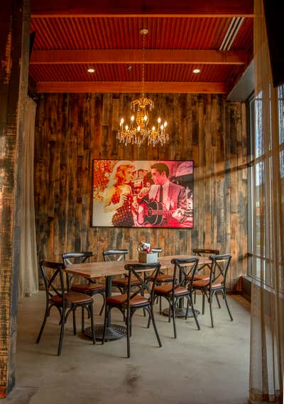 Western Bar and Game Room. Six String Grill & Stage by Assembly Design Studio.