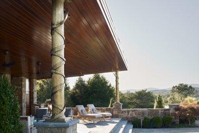 Purple Cherry Architects - Charlottesville Pool House