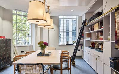 Contemporary Office and Study. London Office by Studio L London.