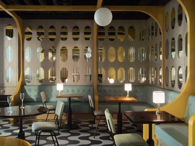 Fran Hickman Design & Interiors  - LOCKET'S, St James's