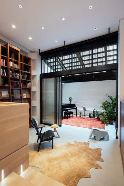 Modern Office and Study. Raft Loft by Dash Marshall LLC.
