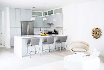 Modern Kitchen. Modern Luxe Bachelors Pad by Shialice Spatial Design.