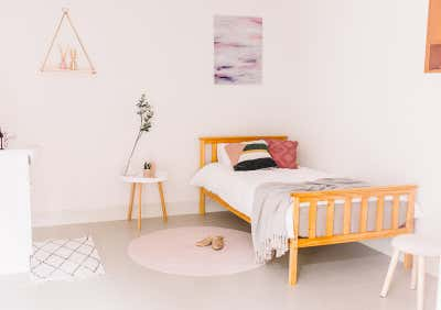 Healthcare Bedroom. EnableAbility Centre by Tailor & Nest.