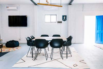Healthcare Meeting Room. EnableAbility Centre by Tailor & Nest.
