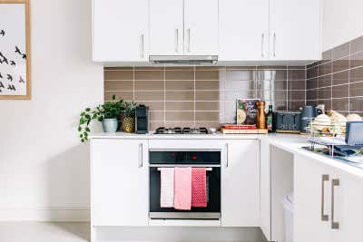 Healthcare Kitchen. EnableAbility Centre by Tailor & Nest.