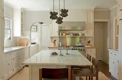 Traditional Kitchen. East Hampton by Louise Voyazis Interior Design.