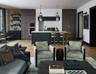 Industrial Family Home Open Plan. Hayden Residence by Brass Tacks Studio.