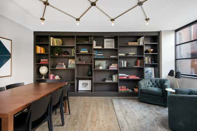 Government/Institutional Office and Study. River North Park Apartments by Brass Tacks Studio.