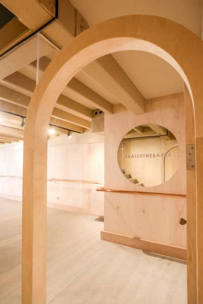 Healthcare Entry and Hall. Barre Lab Duxton by Cream Pie Pte. Ltd..