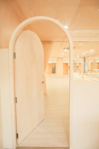 Healthcare Entry and Hall. Barrelab East by Cream Pie Pte. Ltd..