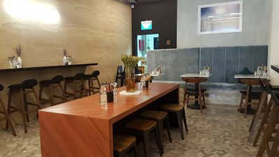 Industrial Dining Room. Sprout Salad Bar  by Cream Pie Pte. Ltd..