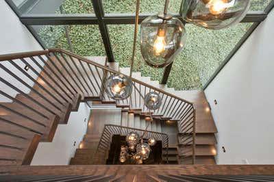 Modern Entry and Hall. 330TPB by Derek Dean Design.