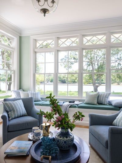 Marika Meyer Interiors - Waterfront Retreat