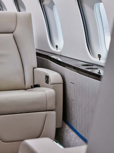 Transportation Meeting Room. Bombardier Global 5000 by 212box LLC.