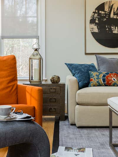 Transitional Family Home Open Plan. Modern Meets Tradition by Eleven Interiors LLC.
