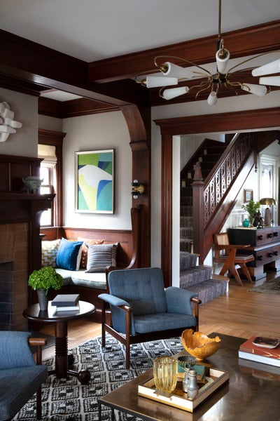 Nina Farmer Interiors - English Arts & Crafts Style Home