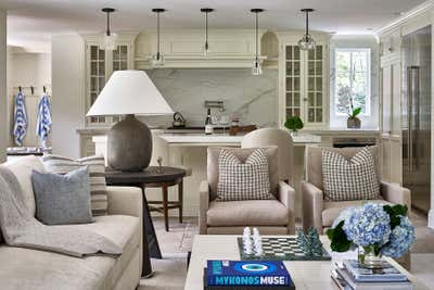 Transitional Country House Open Plan. Locust Valley by J Cohler Mason Design.