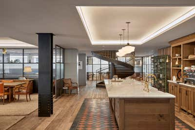 Industrial Mixed Use Open Plan. Workplace, Park Avenue, New York City by Design Stories.