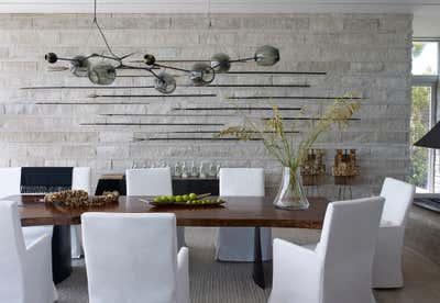 Contemporary Dining Room. Vero Beach Residence by DJDS.
