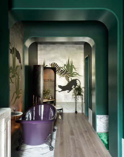 Art Deco Mixed Use Open Plan. Kips Bay Show House 2019 by Studio DB.