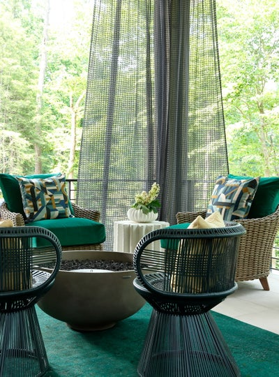 Harmonious Living by Tish Mills - Contemporary Porch Living