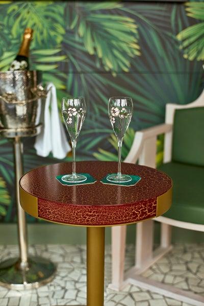 BradyWilliams - Harrods Champagne Bar